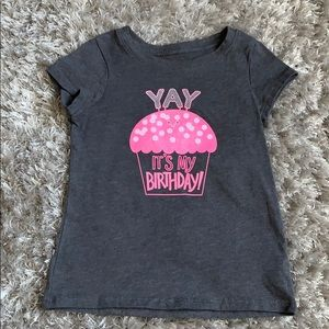 "Cat & Jack • ""it's my birthday"" shirt"